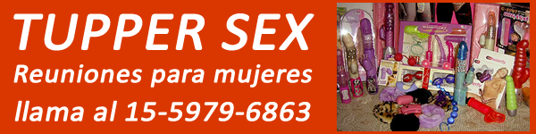 Banner Sex shop en Caballito